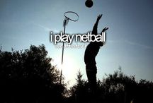 Netball stuff and other sports related crap.
