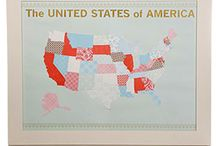 USA art ideas / by Marcy Brown
