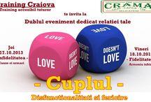 Evenimente Training Craiova / EVenimente dedicate dezvoltarii personale.