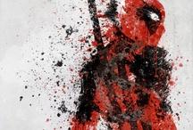Mellisa Smith:superhero Splatter Art