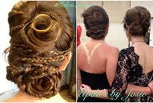 Updos and braids!