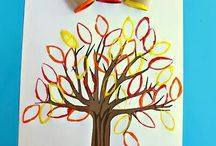Autumn Crafts for Preschoolers / Art and Craft ideas for preschool children