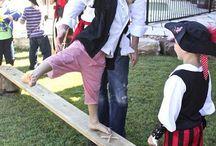 piratas niños