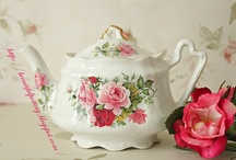 TEA TIME (tea & tea pots) / by Gloria McCarty