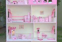 casitas de barbie