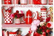 red home dekor