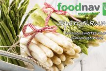 Wissenswertes & Fakten über Essen / foodnav.de stellt nützliches und unnützes Wissen zu Saisongemüse und Obst zusammen.