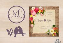 Um casamento encantador! / O dia mágico da nossa criativa Maysa e seu Lucas  foram