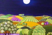 azulejos paisajes
