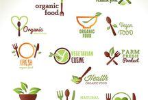 Лого. Органика. Еда