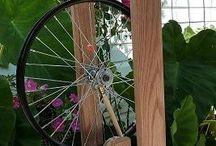 Franken-wheel / building a spinning wheel  / by Lesley Boileau