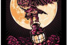 Mark Lanegan poster brainstorming