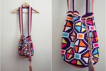 Mochila and tapestry