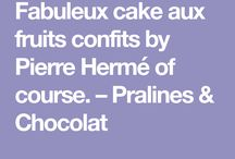 Plats-Cakes grands Chefs