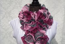 Women's Design / Fashionable handknitted scarves,shawls & more / by designbyelena
