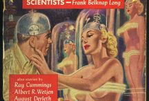 Retro-futuristic Covers and Posters