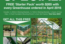 Greenhouse / Ideas for building a greenhouse.