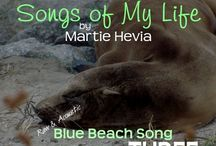 BBS Collection THREE   Songs by Martie Hevia / 'Blue Beach Song Collection: THREE   Songs of My Life by Martie Hevia' is the third album in my Blue Beach Song Collection series. As a singer-songwriter, lyrics and melody have always been the heart of my music. My original compositions intimately express my own, yet universal, emotional journeys and life stories in an Acoustic-Indie-Pop-Rock-Folk style, written for voice and guitar. The recordings are simple, acoustic, one-takes. As you will hear, I am a work in progress!