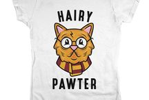 WHAT CATS AND HARRY POTTER! OMG