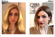 Before e after / I nuovi look!