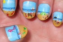 Nailing the Look / Awesome manis to help you stand out amongst the bikini-clad