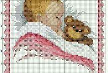 Cross stitch / Vauvoille ja lapsille