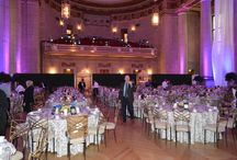 Staging Solutions 2015 Mellon Auditorium / EVENTEQ worked with producer Staging Solutions and The Steenhoven Production Group to provide audio, lighting, video and stage set services for this event at Mellon Auditorium