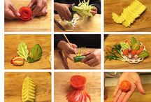 Vegetable ,Fruit ,Carving&Platter