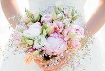 Bloemen voor trouwerij