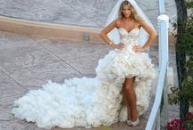 High Low Wedding Dresses / The latest trend in wedding dresses