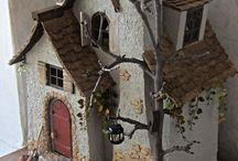 Замки и домики феи