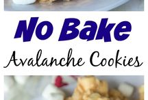 Avalanche cookies no bake