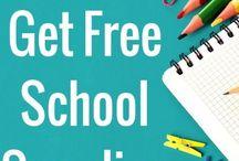 Freebees / Freebees zum Schulanfang