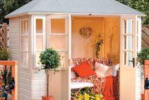 Summer cabanas