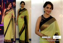 Indian Bollywood Replica Sarees / Buy Latest Designer Bollywood Sarees Online in India. We offer all type of Bollywood actress saree like kareena, deepika, sonakshi, madhuri and more.