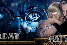 O Grande Gatsby / O Grande Gatsby, é reconhecido como uma grande obra do autor F. Scott Fitzgerald. No ano de 2013 teve sua mais recente adaptação para os cinema. Seu contexto se passa na época do movimento Art Déco.