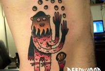 Juggling theme tattoos