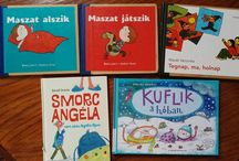 My Insta photos Könyvtártúra 1 #bookphoto : #gyerekkönyvek első adag #childrensbooks #danielandras #kuflik #estimese