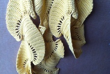crocheted shawls, cowls , scarves / by closeknit sally Palin