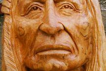 rostros nativos