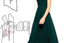 moda, šaty, strihy,