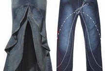 Jeans riciclati