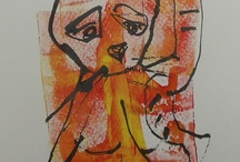 wilde Tiere / drawings from expressiv animals..