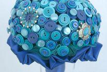 Button bouquets by Bukieteria