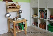 Kinder-stuhl-Küche
