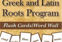 Latin and Greek