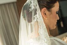 Belleza de la novia ♡ / El peinado se ve más lindo junto con el maquillaje ;)