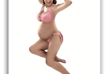 Maternity pin up! Adorable