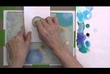 Gelli Plate Magic / Fun with mono prints and the gelli plate