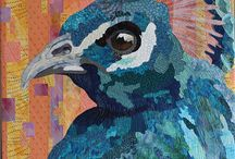 Quilt Art Animals